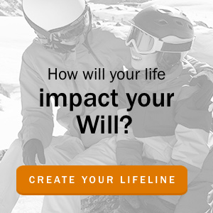 how will your life impact your will? build your lifeline